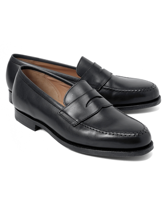 Peal & Co.® Penny Loafers Black