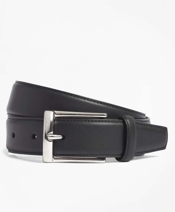 Calfskin Dress Belt Black