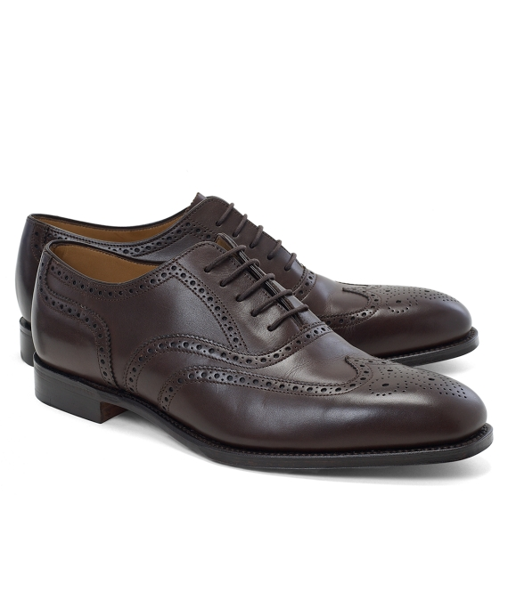 Peal & Co.® Lightweight Perforated Wingtip Bals Brown