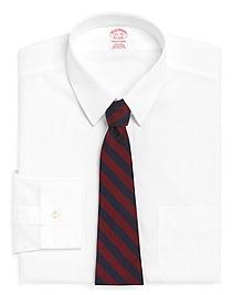 Non-Iron Traditional Fit Tab Collar Dress Shirt