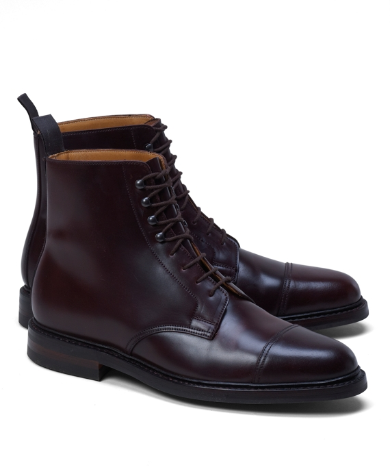 Peal & Co.® Cordovan Boots Burgundy
