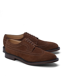 Peal & Co.® Suede Long Wingtips
