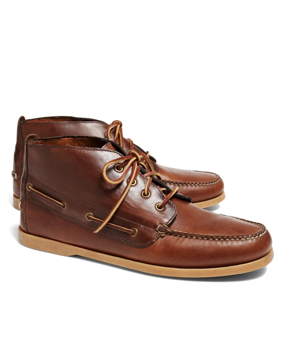 Chukka Boat Boots Brown