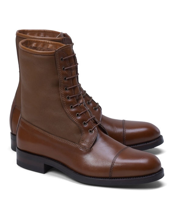 Shearling Boots Tan