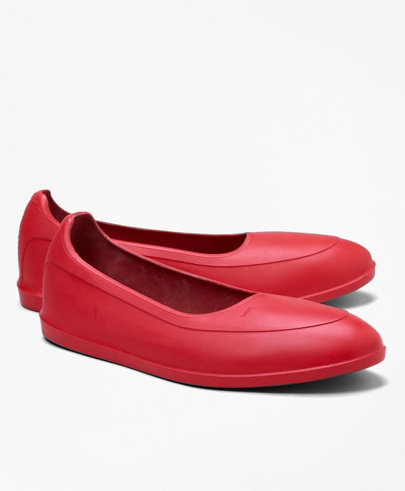 SWIMS Brand Galoshes Red