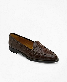 Alligator Loafers