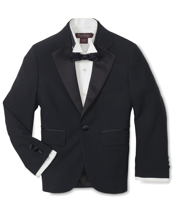 Junior Tuxedo Jacket Black