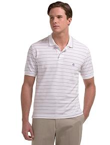 Golden Fleece® Fine Stripe Polo