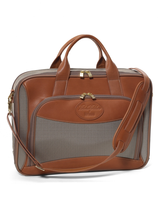 Hartmann Laptop Briefcase Tan