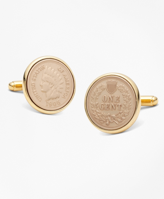 Replica Indian Head Penny Cuff Links As Shown