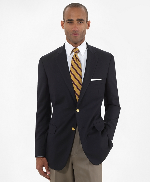 Two-Button Regent Fit Blazer Navy