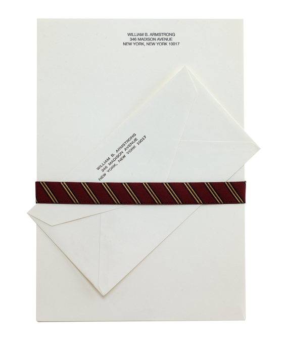 Executive Stationery - 50 Sheets & Envelopes Ivory