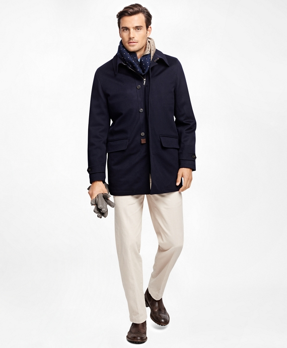 BrooksStorm® Walking Coat Navy
