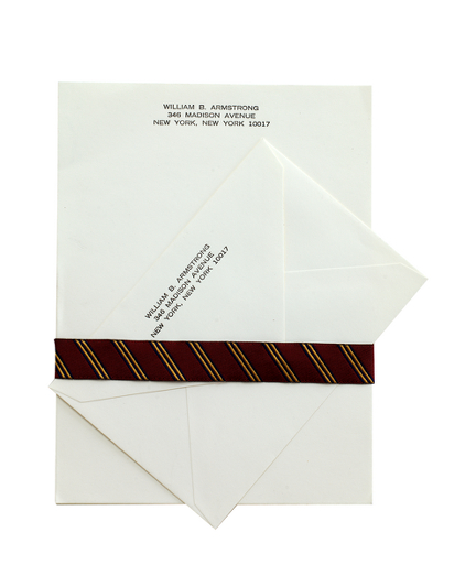 Fold-Over Letter Stationery - 100 Sheets & Envelopes