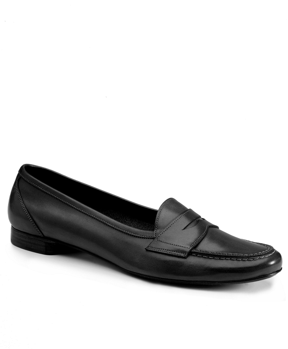 Stitched Loafers Black