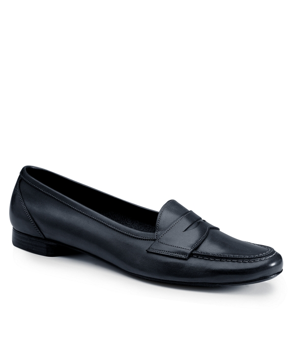 Stitched Loafers Navy