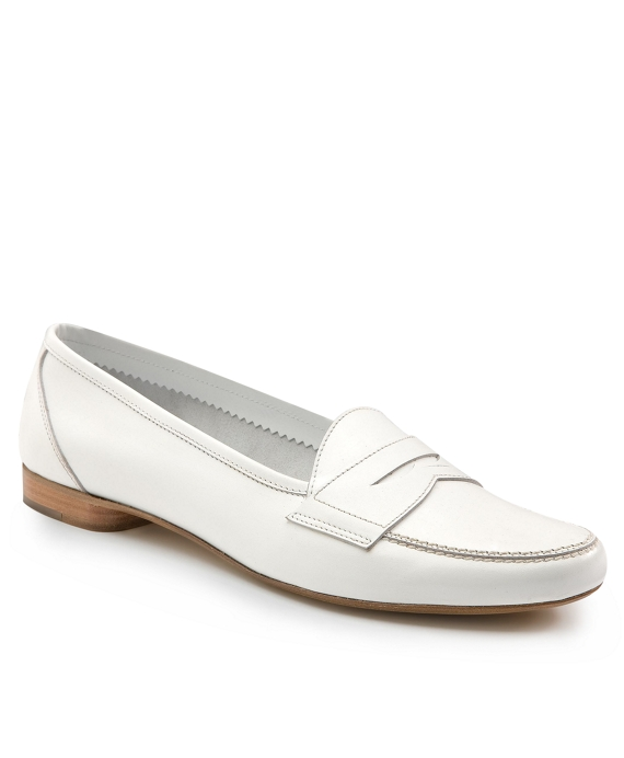 Stitched Loafers White
