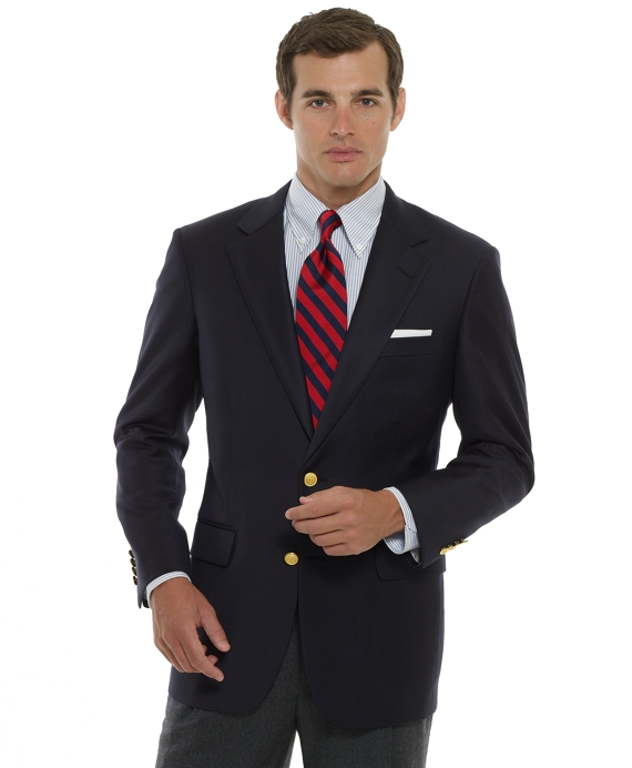 Country Club Two-Button Blazer Navy
