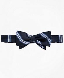 BB# 1 Stripe Pre-Tied Bow Tie