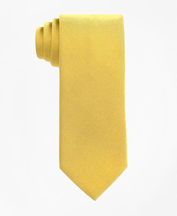 Solid Silk Tie Gold