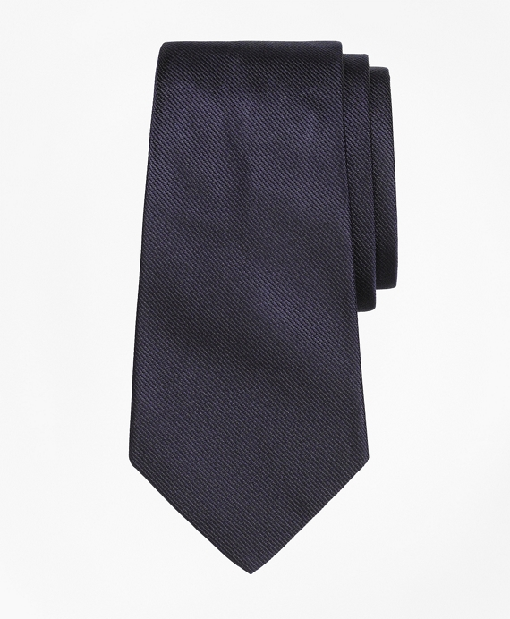 Solid Silk Tie Navy