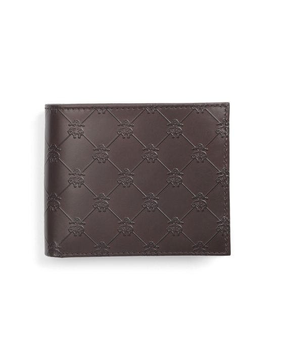Golden Fleece® Embossed Wallet Dark Brown