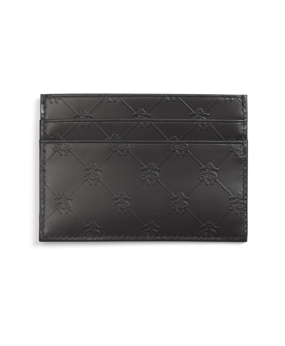 Golden Fleece® Embossed Slim Card Case Black