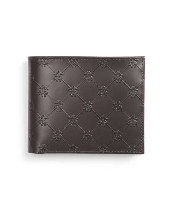 Golden Fleece® Embossed Coin Wallet Dark Brown