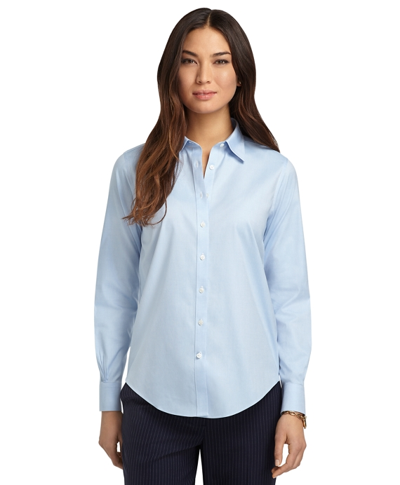 Blue Dress Shirt Womens Artee Shirt