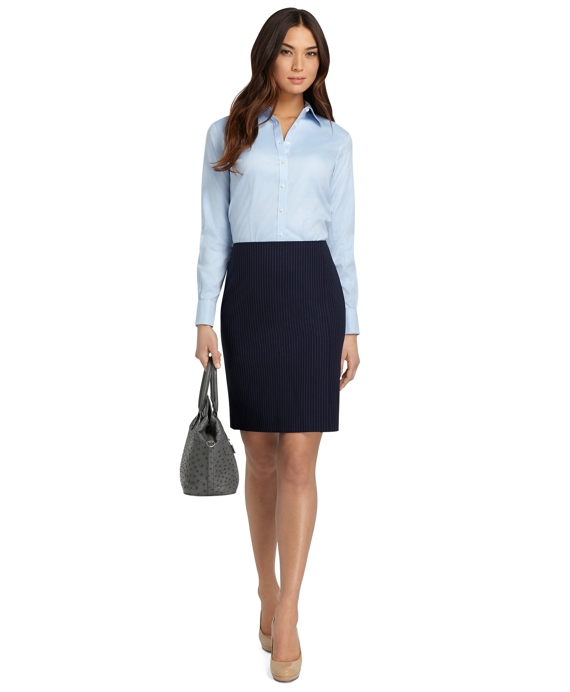 Fantastic WOMEN - Black Lining White Polka-dot French Cuffs Shirt - Dress Shirts For Men - French-Shirts.com