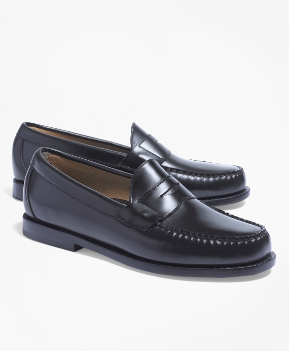 Classic Penny Loafers Black
