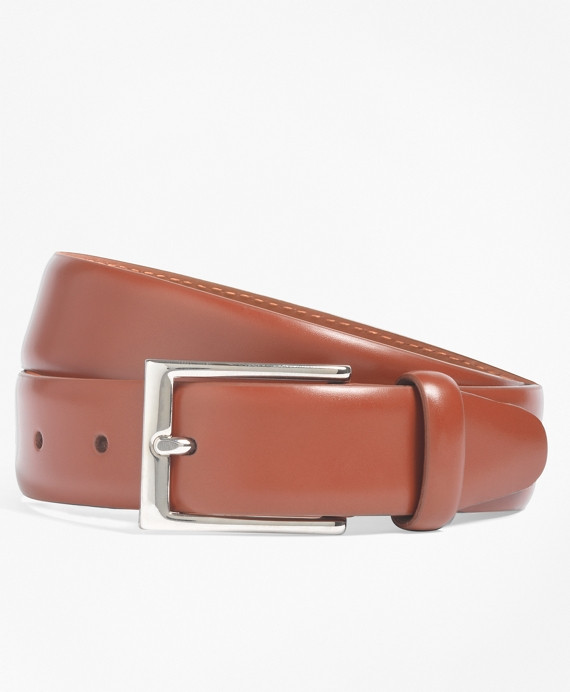 Feather Edge Belt British Tan
