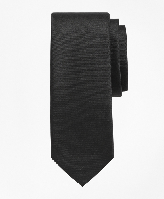 Golden Fleece® 7-Fold Satin Tie Black