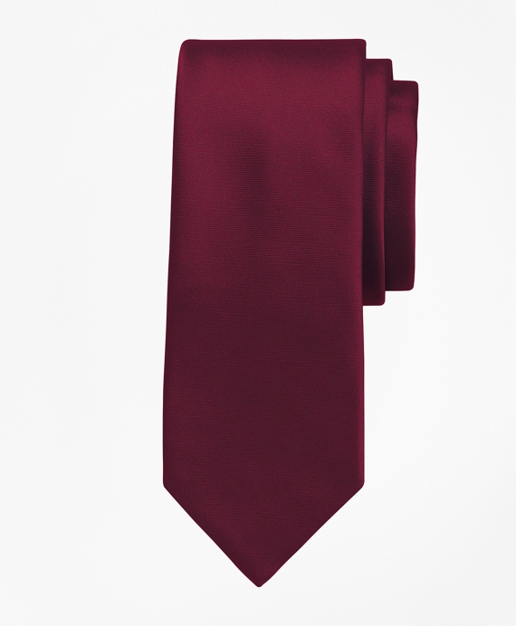 Golden Fleece® 7-Fold Satin Tie Burgundy