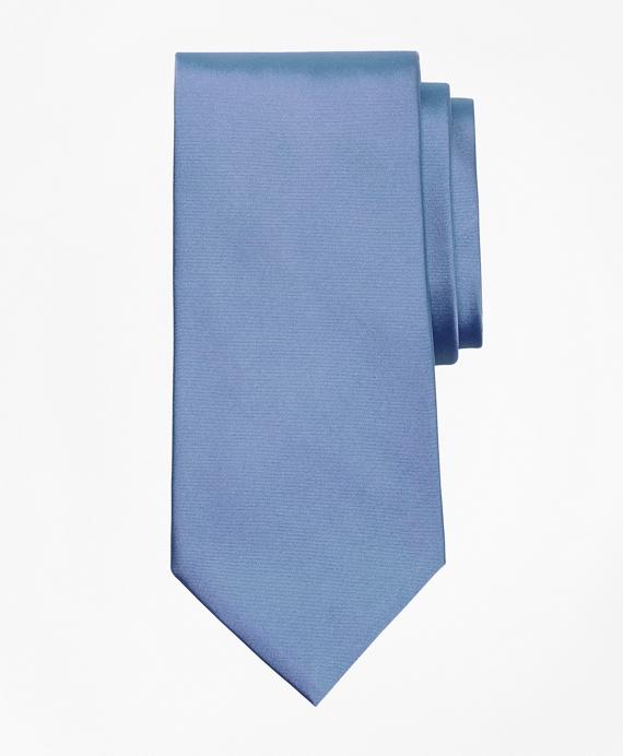Golden Fleece® 7-Fold Satin Tie Light Blue