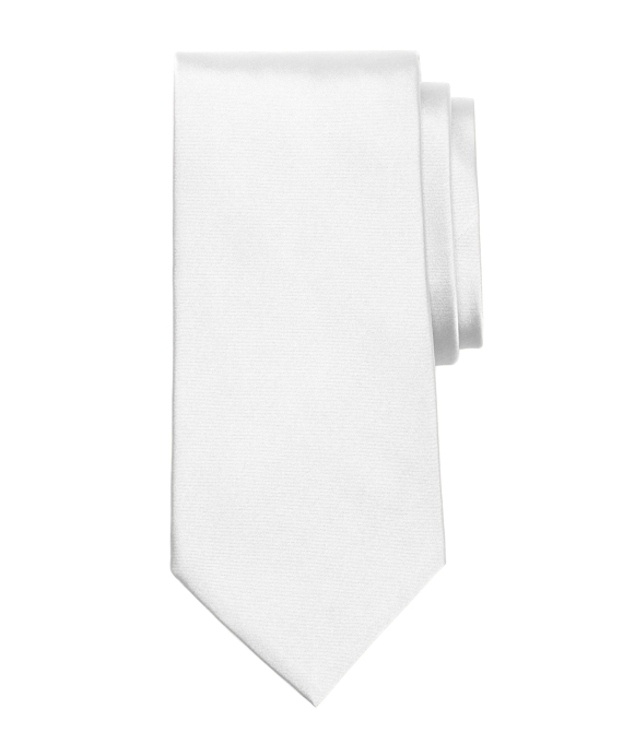 Golden Fleece® 7-Fold Satin Tie White