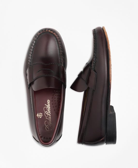 Penny Loafers Burgundy