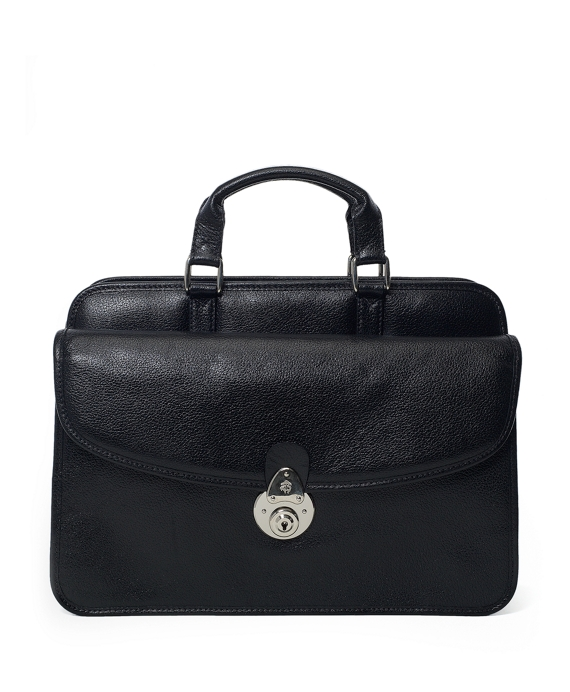 Buffalo Zipper Briefcase Black