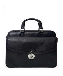 Buffalo Zipper Briefcase