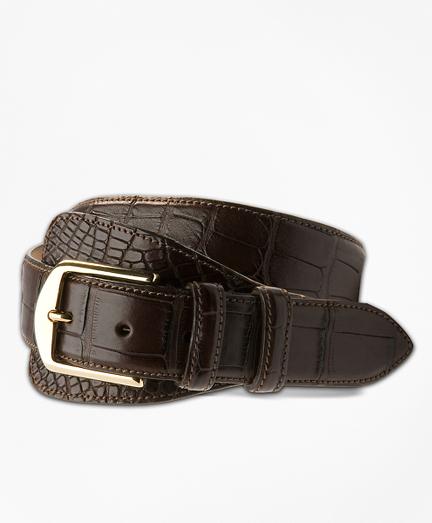 Alligator Tab Belt