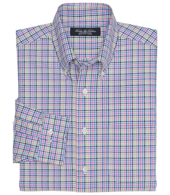 Country Club Multi District Check Sport Shirt Multi
