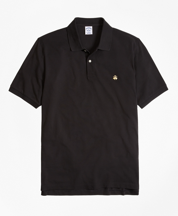 Golden Fleece® Slim Fit Performance Polo Shirt - Basic Colors Black