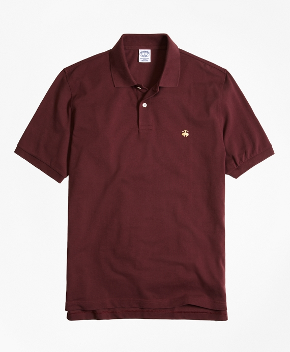 Golden Fleece® Slim Fit Performance Polo Shirt - Basic Colors Burgundy