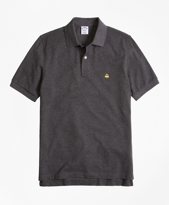 Golden Fleece® Slim Fit Performance Polo Shirt - Basic Colors Charcoal