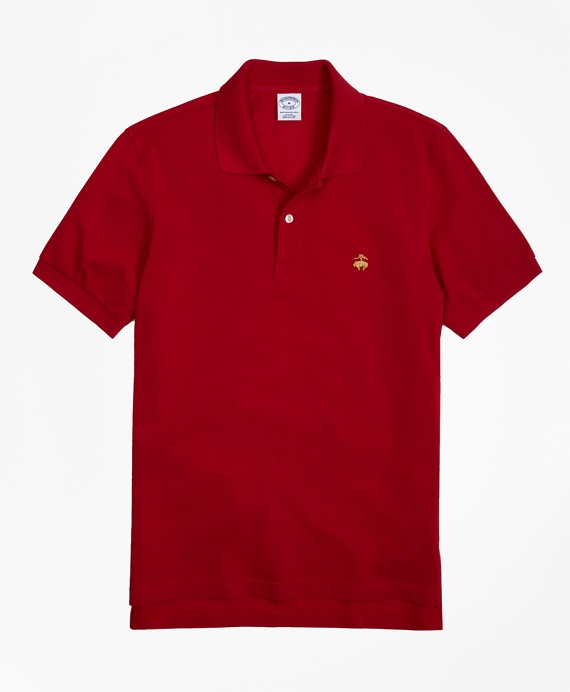 Golden Fleece® Slim Fit Performance Polo Shirt - Basic Colors Red