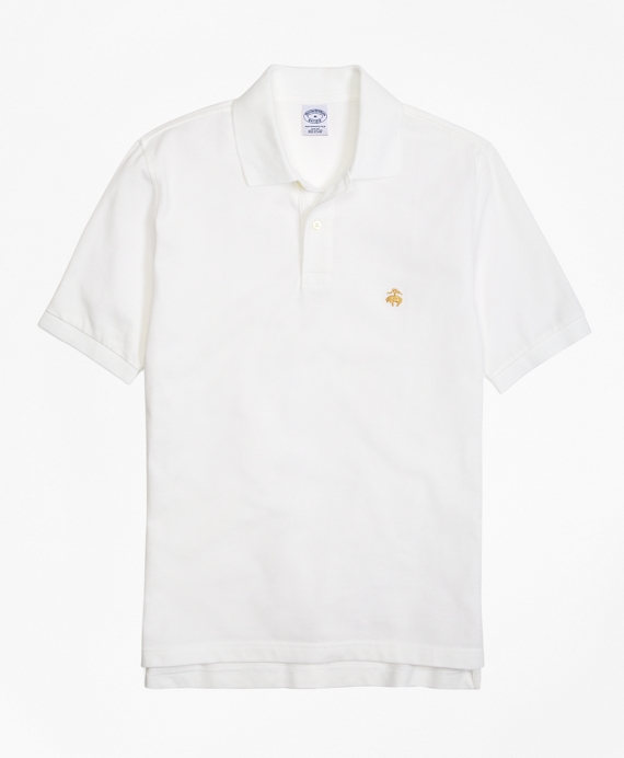 Golden Fleece® Slim Fit Performance Polo Shirt - Basic Colors White