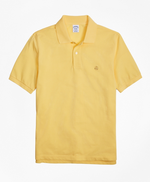 Golden Fleece® Slim Fit Performance Polo Shirt - Basic Colors Yellow