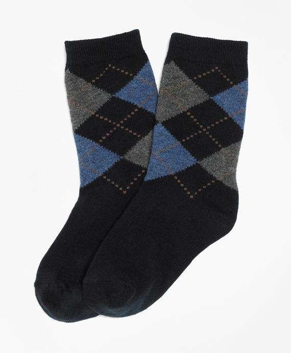 Argyle Sock Navy
