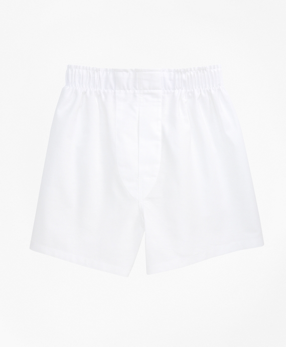 Oxford Full Cut Boxers White