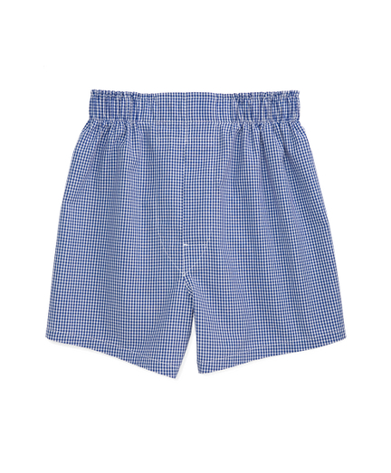Blue Gingham Full Cut Boxers